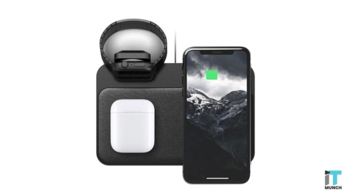 Nomad's wireless chargers work with all Qi-compatible devices I iTMunch