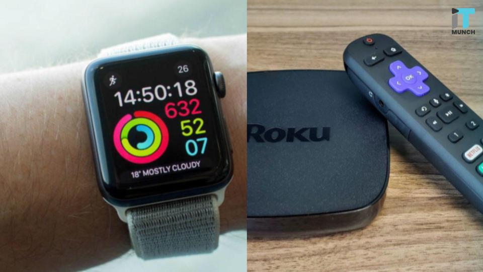 Roku remote on your wrist | iTMunch
