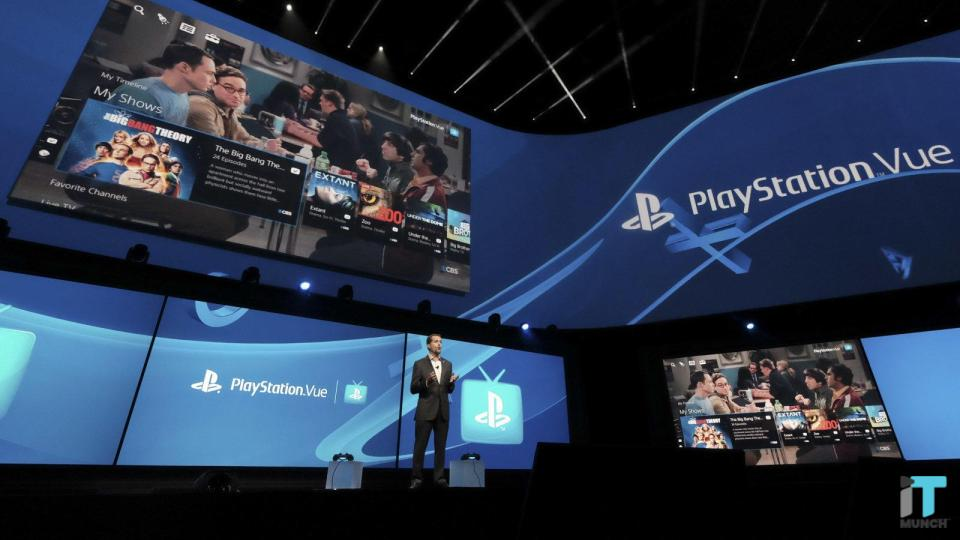 Playstation Vue event | IT Munch