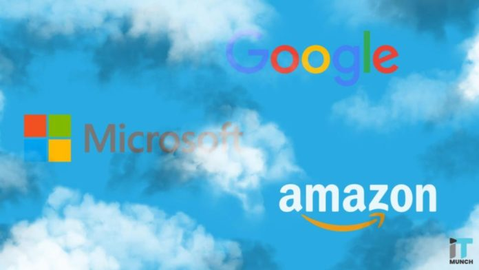 Google, Amazon, Microsoft cloud services | iTMunch