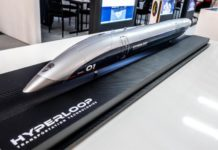 Hyperloop model I iTMunch