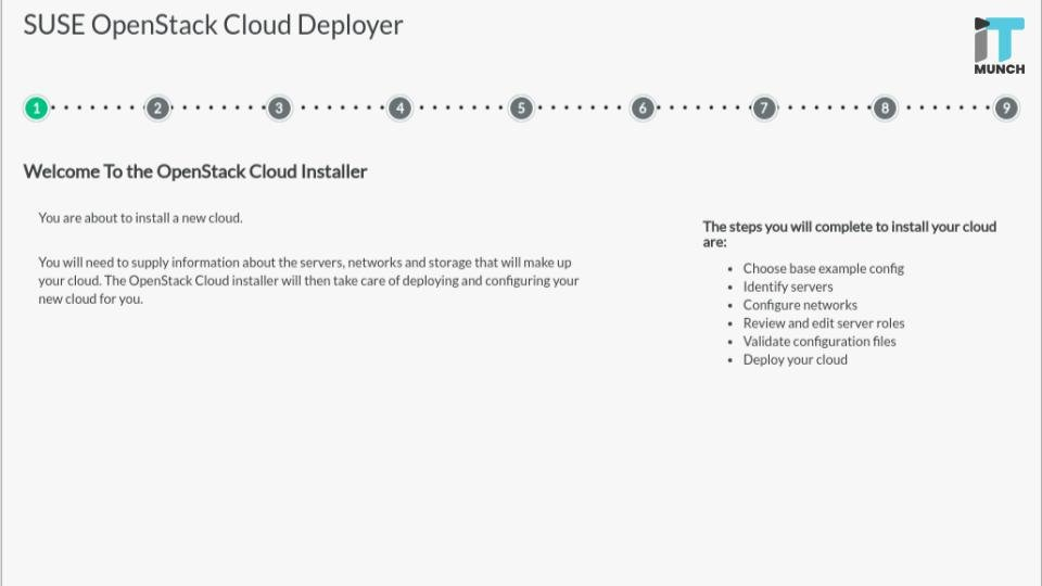 OpenStack Cloud Installer by Suse