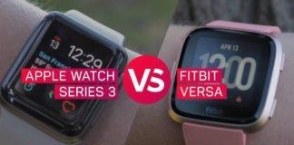 Apple watch series 3 vs fitbit versa | iTMunch