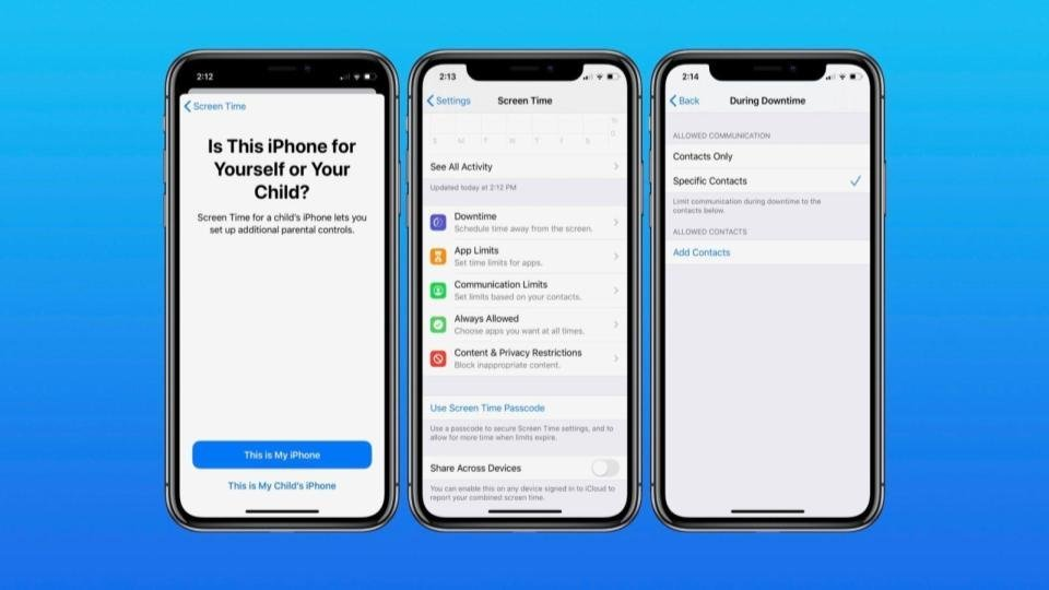iPhone's parental controls | iTMunch