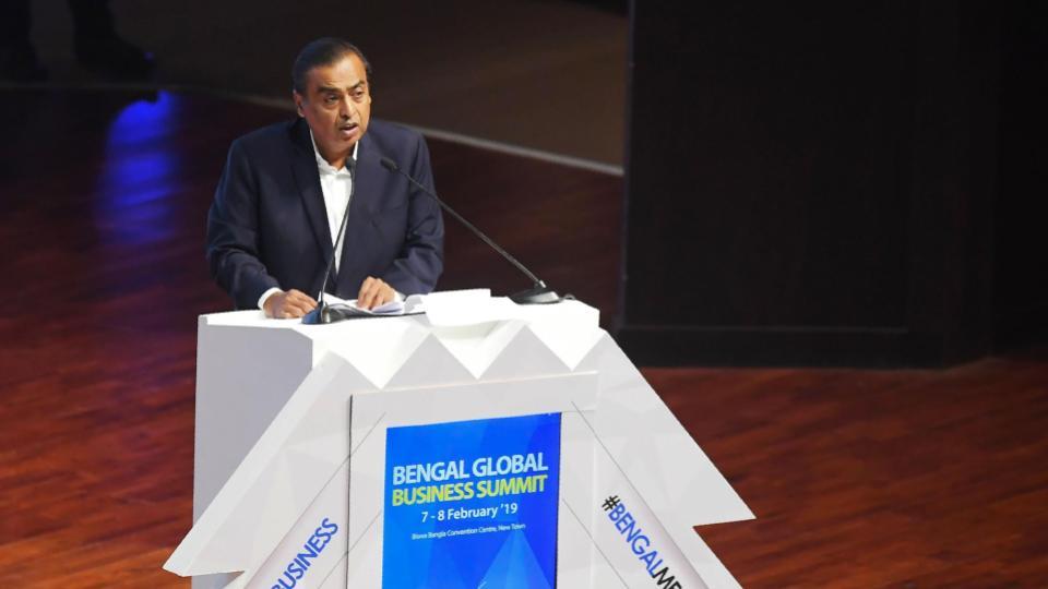 Ambani attends global summit | iTMunch