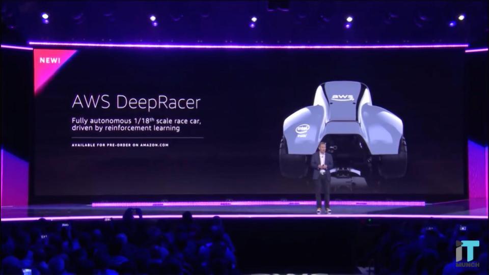 AWS Deep Racer Launch | iTMunch