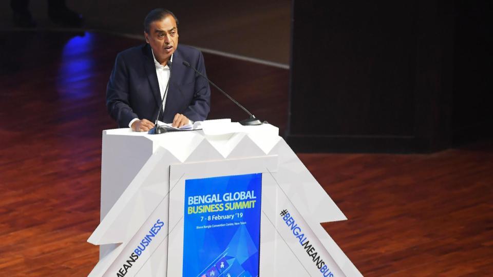 Mukesh Ambani addressing at business summit | IT Munch