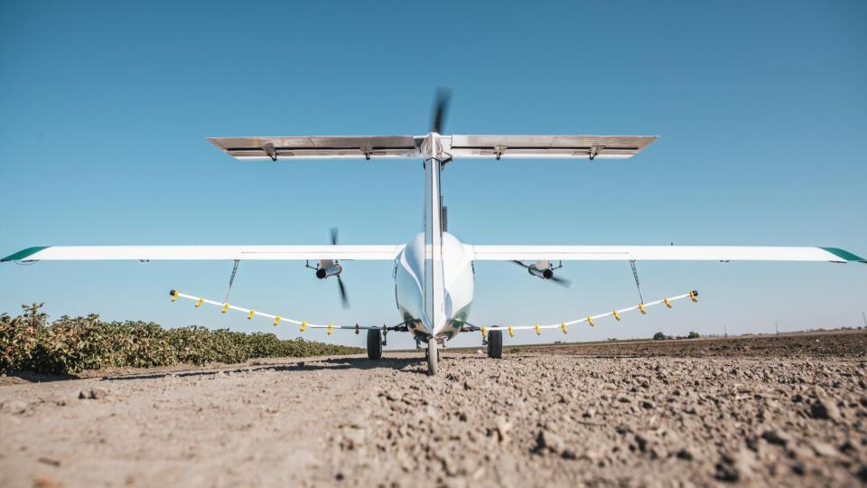 Pyka electric crop-spraying drone | IT Munch