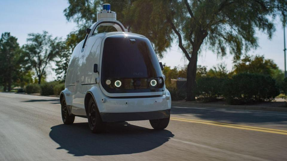 Nuro delivery vehicle | iTMunch