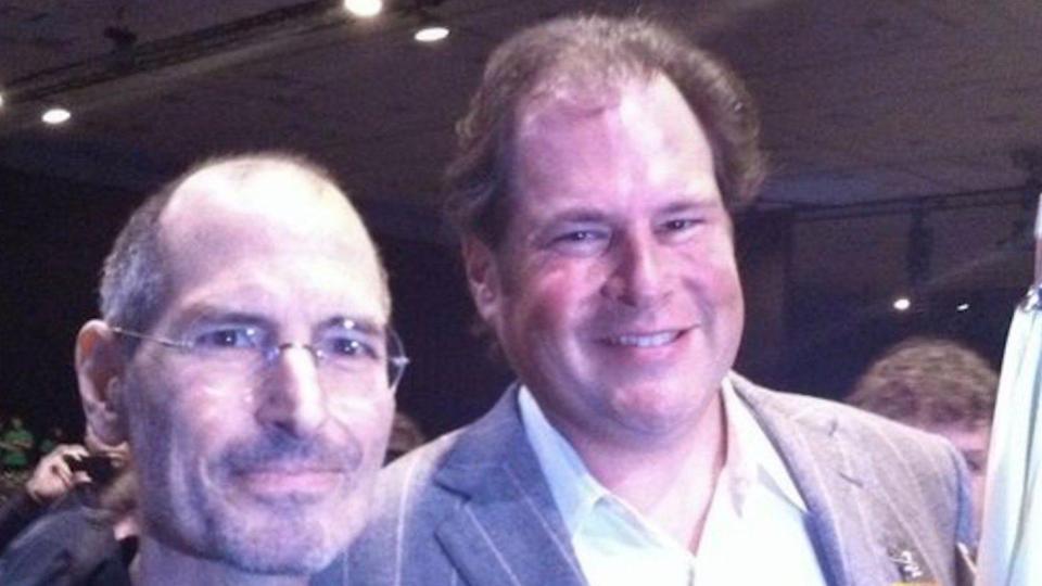 Steve jobs and Marc | ITMunch