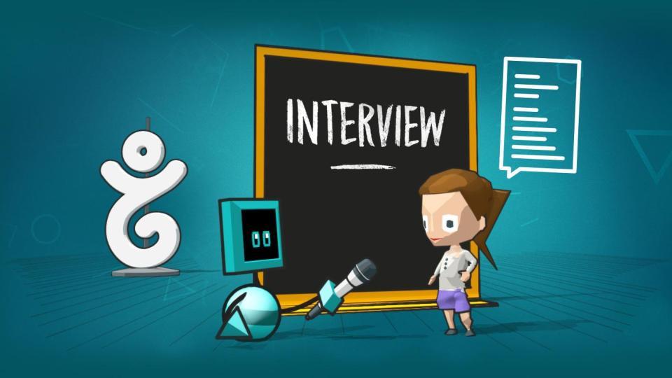 A Robot Taking an Interview of a Human | iTMunch