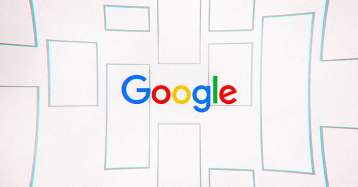 Google search engine results design