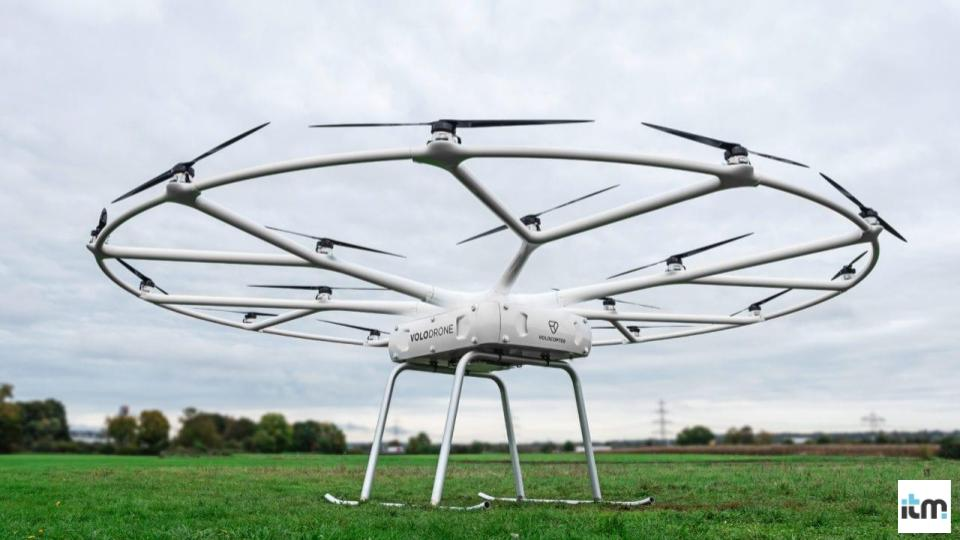 Volocopter receives funding of $94M | iTMunch