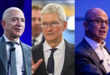 CEOs of Apple, Microsoft & Amazon   iTMunch