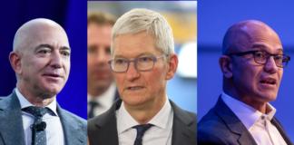 CEOs of Apple, Microsoft & Amazon | iTMunch