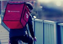 Doordash food delivery guy   iTMunch