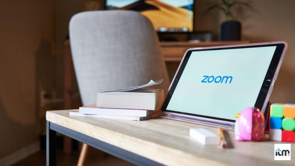 Zoom being used on the tablet | iTMunch