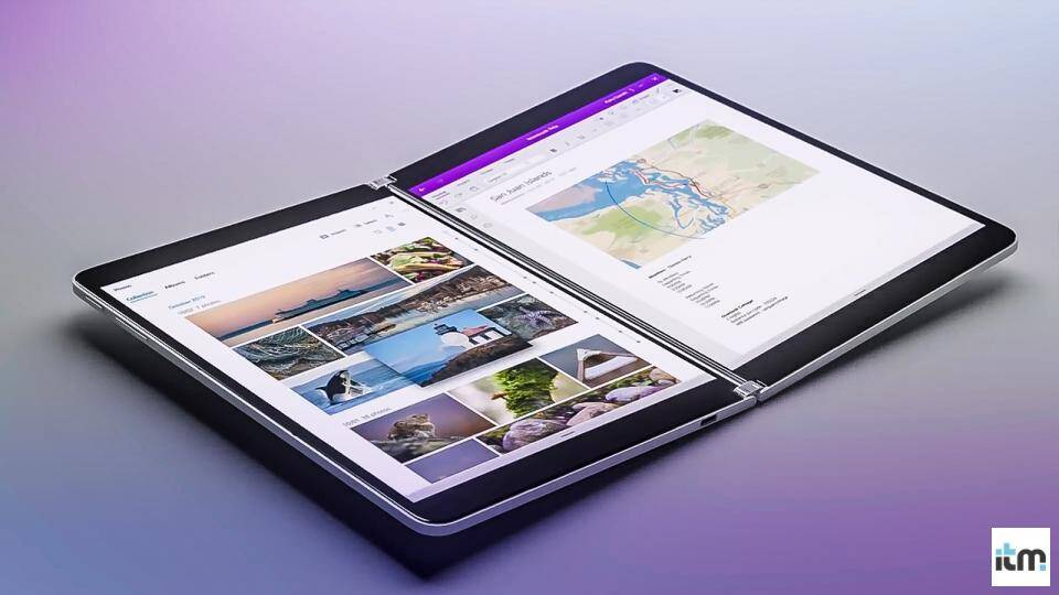 Microsoft dual screen  | iTMunch