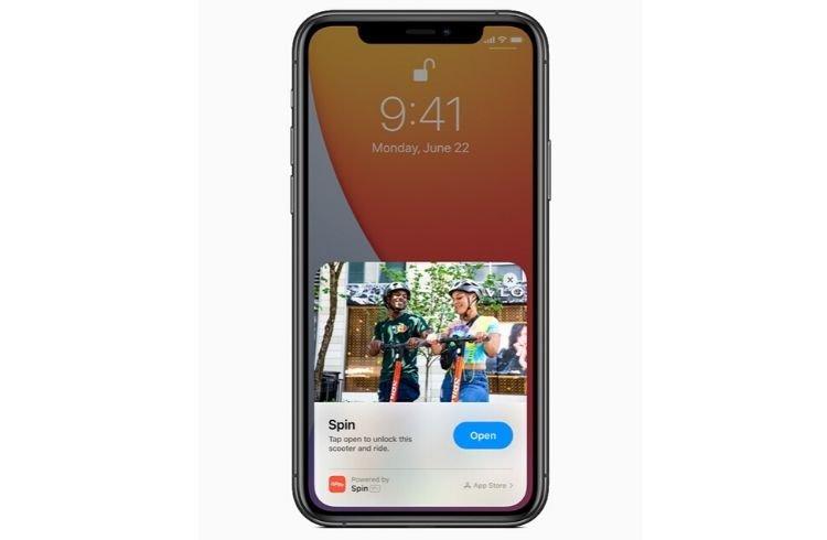 App Clips - iOS 14 - Apple WWDC 2020 keynote | iTMunch