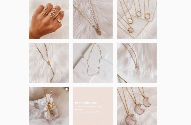 She is gold Instagram for business account | iTMunch