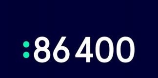 Australian neobank 86 400 logo | iTMunch