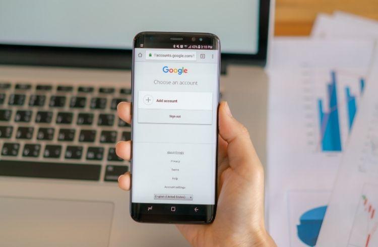 Google account login on phone   iTMunch