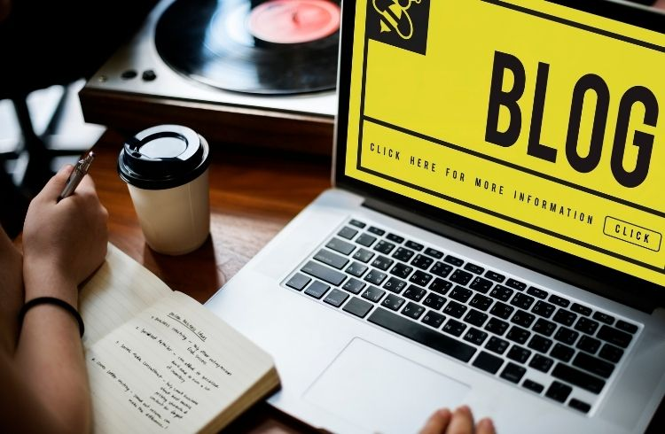 Type of content distribution - Blog | iTMunch