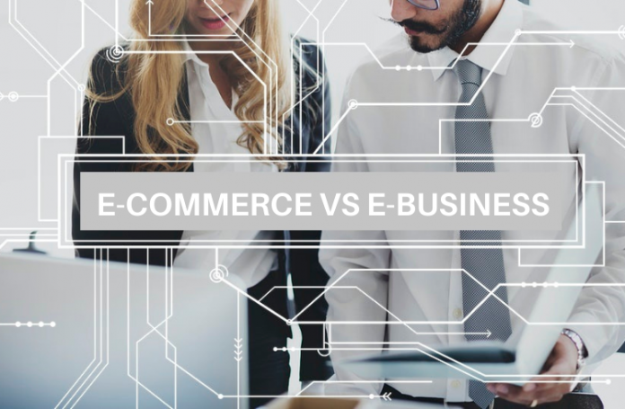 E-commerce vs e-business | iTMunch
