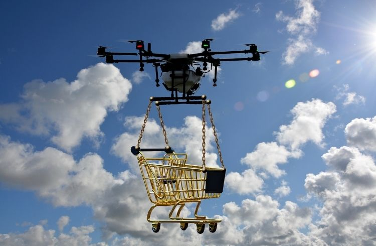 startup industry trend - drone delivery | iTMunch