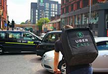 Uber Eats Driver   iTMunch