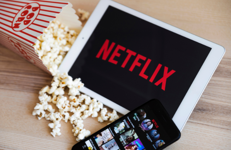 Netflix on tablet   iTMunch