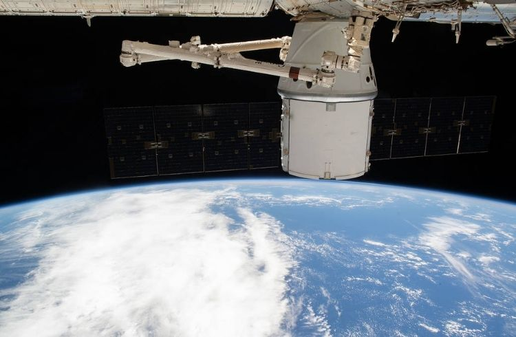 SpaceX Dragon Docks the International Space Station