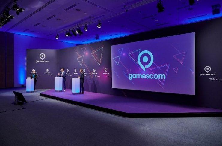 Press conference Gamescom 2021, Rheinsaal, Congress Centrum Nord
