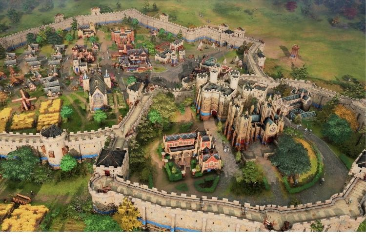Age of Empires 4 Walled City